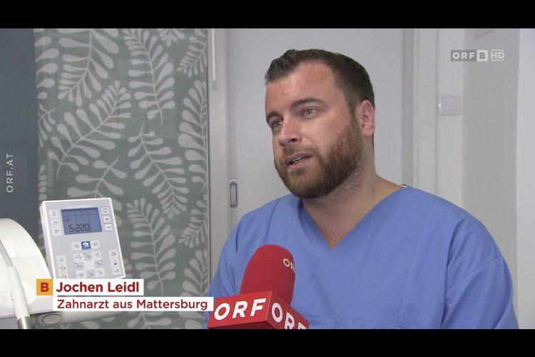 Dr. Jochen Leidl beim ORF Burgenland